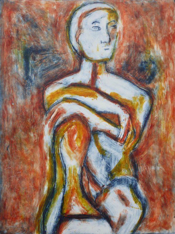 Perching Figure