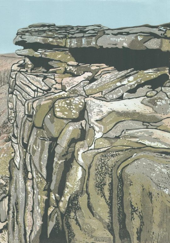 Robin Hoods Cave - Stanage