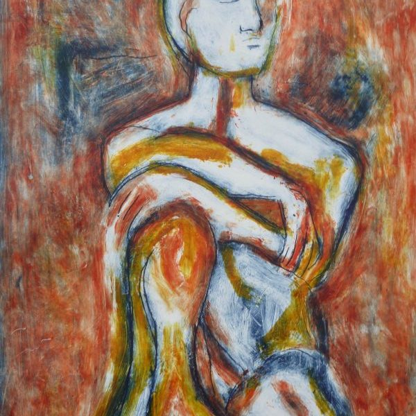 Perching Figure