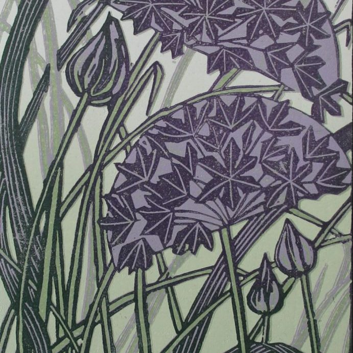 Alliums and Grasses
